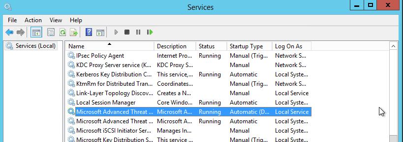 service running