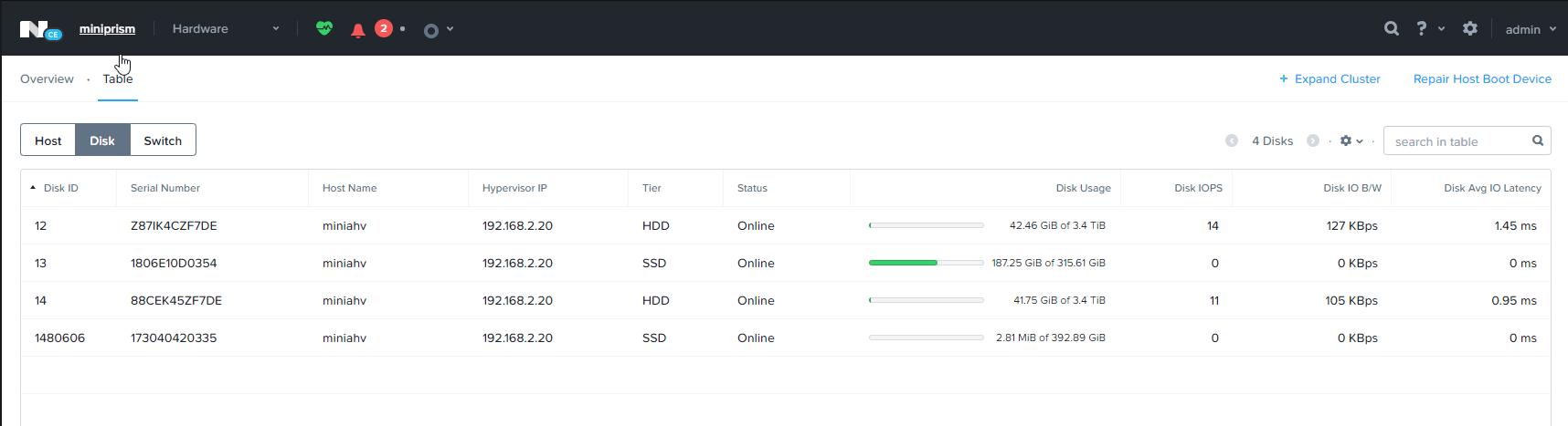ncli update