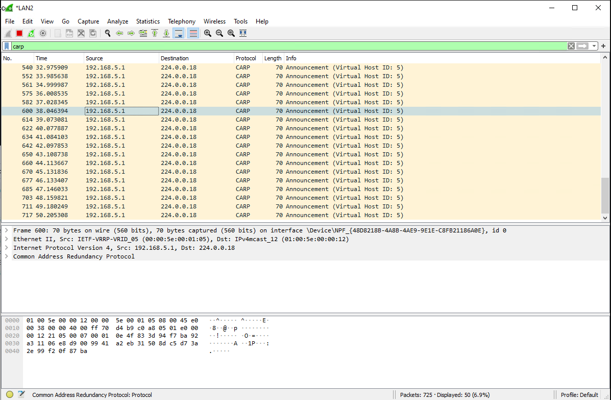 Wireshark Windows