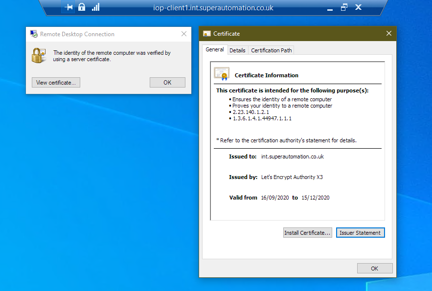 certificate Verified image