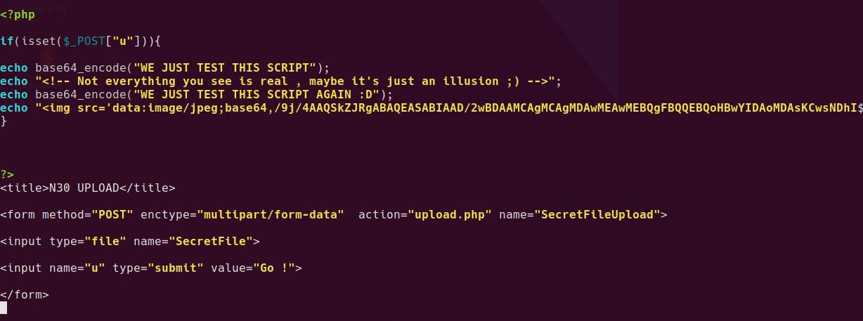 upload php script